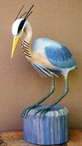 Blue Heron by Al Bonar