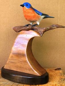 Eastern Bluebird by Al Bonar