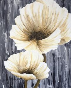 White Poppies by Alicia Soave-White