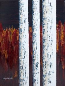 Autumn Birches III by Alicia Soave-White