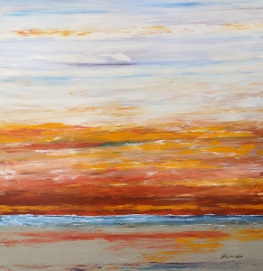 Pacific Sunset by Alicia Soave-White