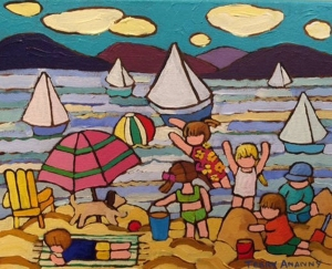 At The Beachs by Terry Ananny
