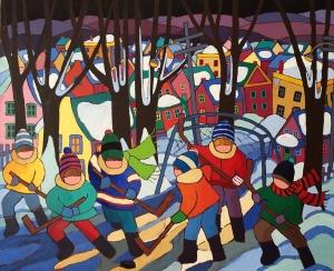 Shinny Hockey by Terry Ananny
