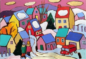 Winter Scenes by Terry Ananny