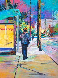 Dupont Symington Walking Past the Stop by Andrew Sookrah