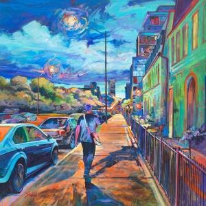 Heading to Bloor West Village by Andrew Sookrah