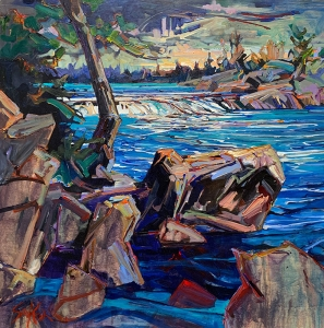 Burleigh Falls at the 48 by Andrew Sookrah