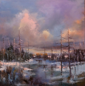 In the Midst of Winter's Light by Barbara McGuey