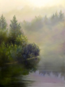 Quiet Morning by Barbara McGuey