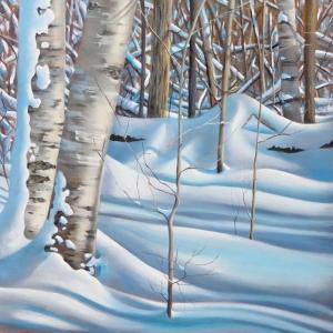 Winter Shadows by Barbara McGuey