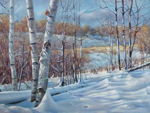 Winter White by Barbara McGuey