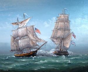 Battle for Lake Erie War of 1812 by Ben Jensen