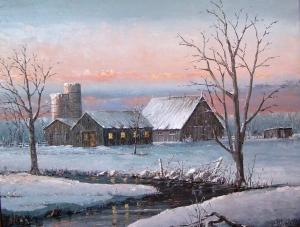 Evening Chores 2 by Ben Jensen