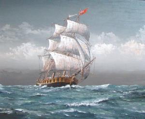 HMS Detroit by Ben Jensen