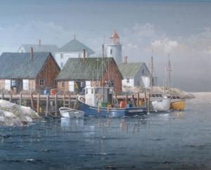 Herring Cove (N.S.) by Ben Jensen