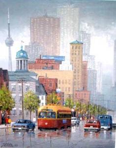 King St E Toronto by Ben Jensen