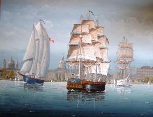 Kingston Harbour Bounty Bluenose by Ben Jensen
