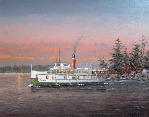 Muskoka Evening Cruise by Ben Jensen