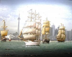 Tall Ships (Toronto Harbour) by Ben Jensen