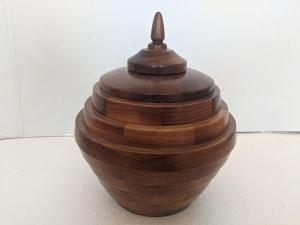 Large Urn (Walnut) by Bev Redden