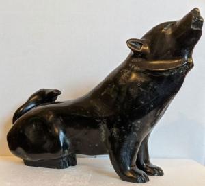 Black Wolf by Bill Nasogaluak