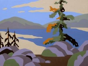 Canadian Landscape 1 by Bob Thackeray