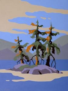 Canadian Landscape 2 by Bob Thackeray