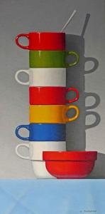 Coffee Cups by Bob Thackeray