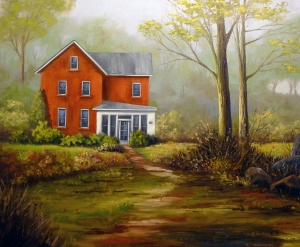 Country Home by Bob Thackeray