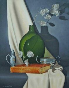 Green & Silver by Bob Thackeray