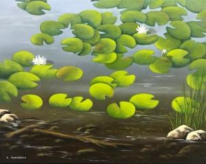 Lily Pad by Bob Thackeray