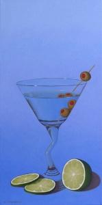 Martini & Limes by Bob Thackeray