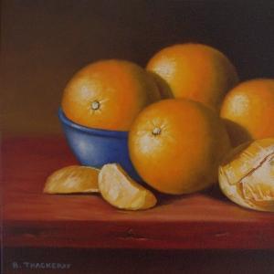 Oranges 11 by Bob Thackeray