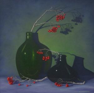 Red & Green by Bob Thackeray