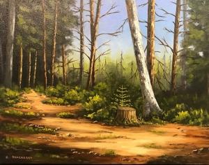 Through the Woods by Bob Thackeray
