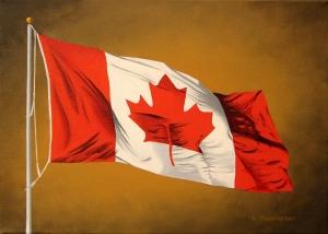 Canada Day by Bob Thackeray