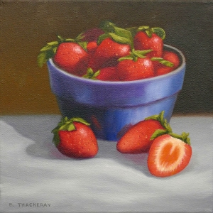 Strawberries by Bob Thackeray