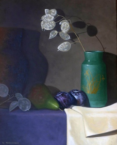 Study in Green and Purple by Bob Thackeray