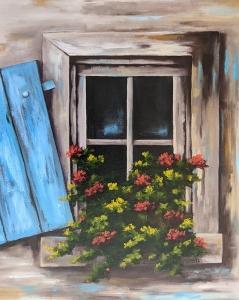 Window Box by Bob Thackeray