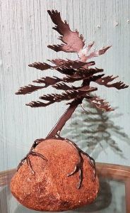 Windswept Pine by Cathy Mark