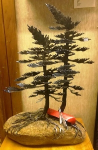 Double Pine Canoe by Cathy Mark
