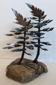 Double Windswept (Medium) by Cathy Mark