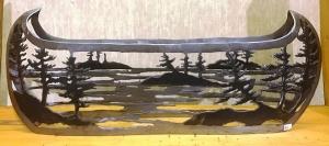 Metal Canoe by Cathy Mark