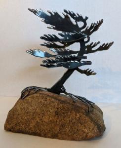 Windswept Pine II (Small) by Cathy Mark