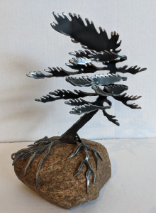 Windswept Pine II (Medium)  by Cathy Mark