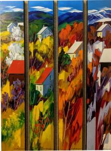 Quatre Saisons by Christian Bergeron