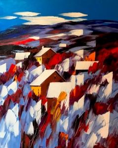 L'hiver Dans Les Montagnes by Christian Bergeron