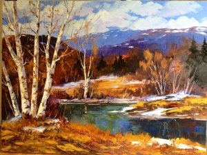 Late Fall by Christian Bergeron