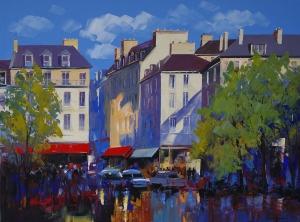 Scene de Paris by Christian Bergeron