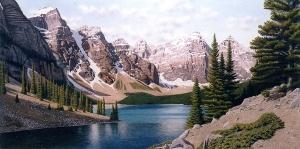 Moraine Lake by Conrad Mieschke